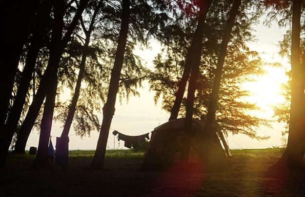 Le camping de Koh Adang