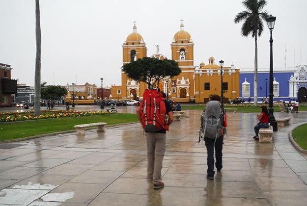 Ninon et Keuvin au Pérou