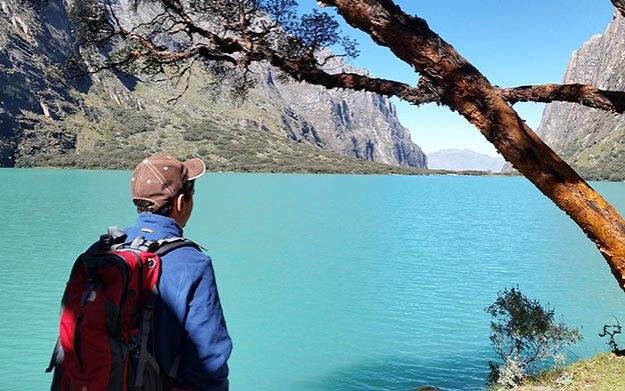 La Laguna Llanganuco