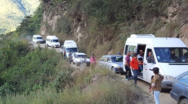 Aller en bus au Machu Picchu