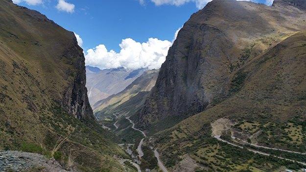 La route vers le Machu Picchu