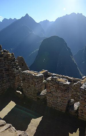 Vue du Machu Picchu