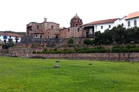 Le Temple du Soleil à Cusco