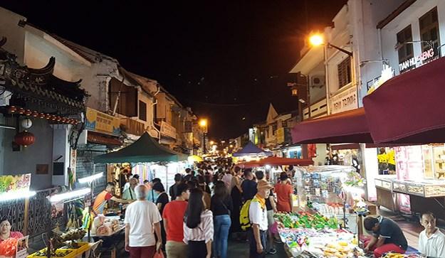 Le marché de Jonker Street