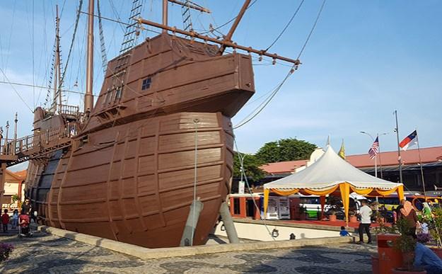 Le musée maritime de Malacca