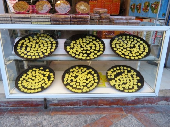 Nan berenji are Persian cookies from Kermanshah in Iran