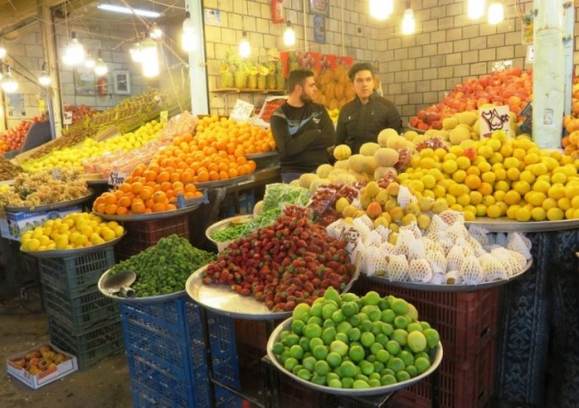 bazaar in qazvin. A must see when you travel to Qazvin