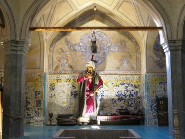 Goli agha hammam in Isfahan Iran
