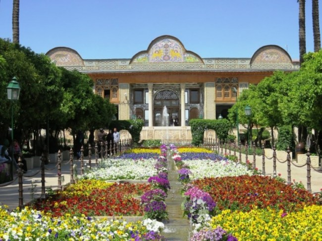 Ths Qavan house and Naranjestan garden in Shiraz