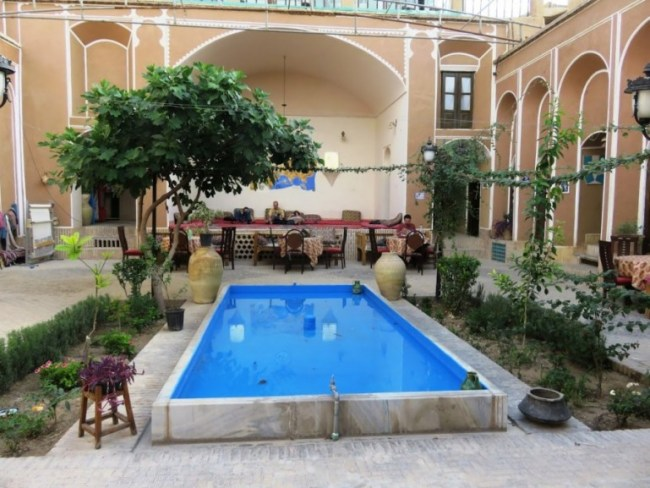 Orient hostel in Yazd Iran