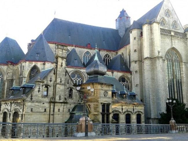 church in Ghent in Belgium