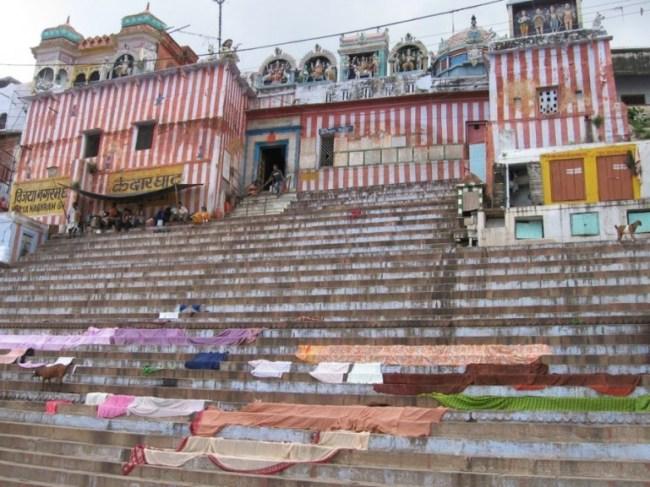 Kedar ghat is a must stop on your Varanasi Walking tour