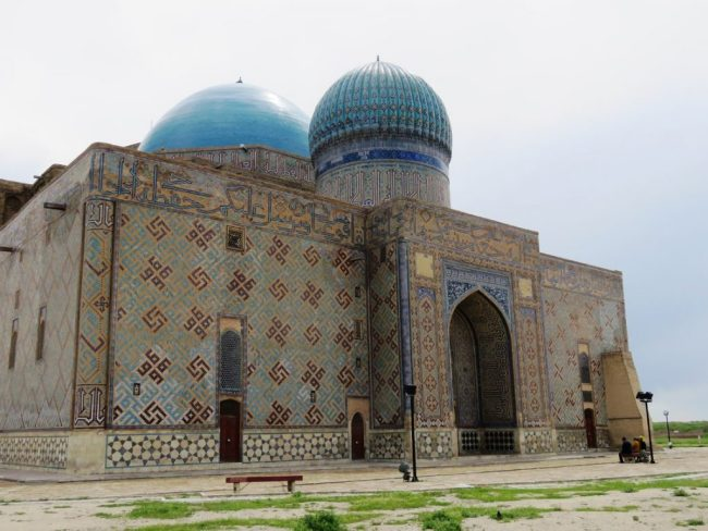 Yasaui mausoleum in Turkestan