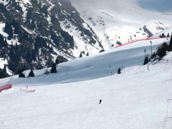 Ski resort Chymbulak