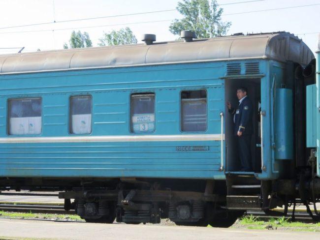 Backpacking Kazakhstan by train