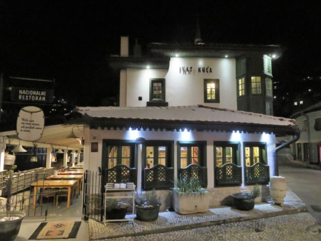 Inat Kuca is one of Sarajevo's best restaurants