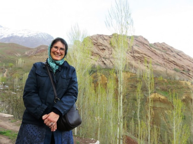 This is what I was wearing as a solo female traveller in Iran