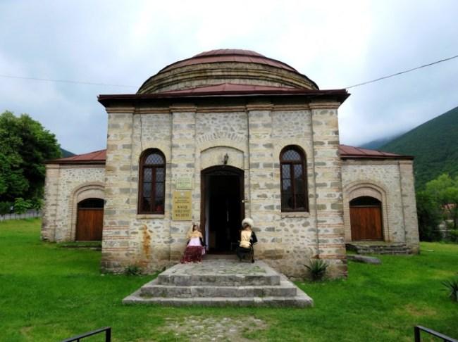 The museum near the palace of the Shirvanshah in Sheki