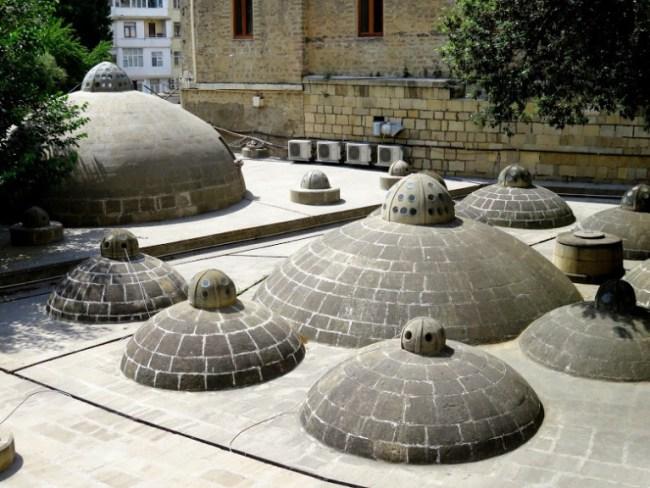 Hamam in the old town in Baku