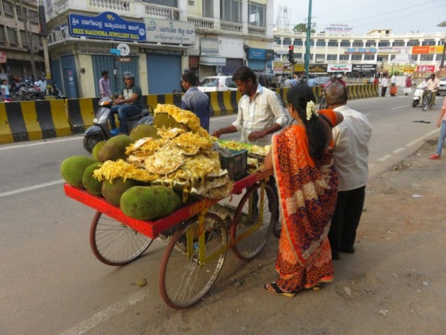 best food in mysore: jackfruits