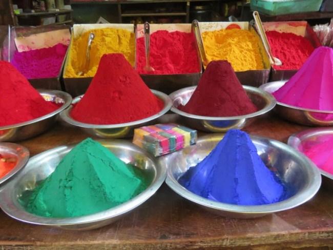 Holi festival in Varanasi
