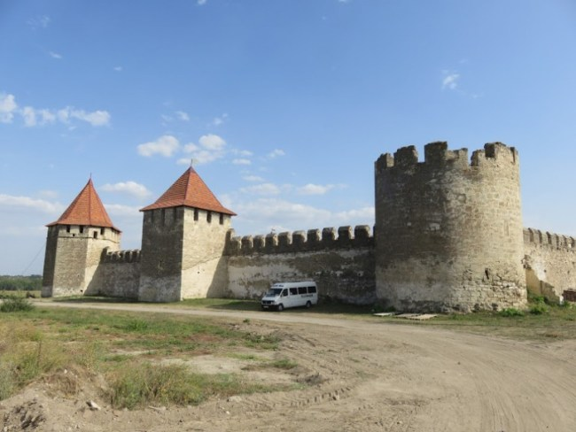 the Bendery fortress near Tiraspol