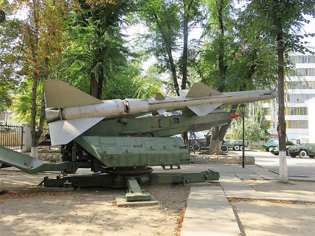 tanks in the garden of the army museum in Chisinau