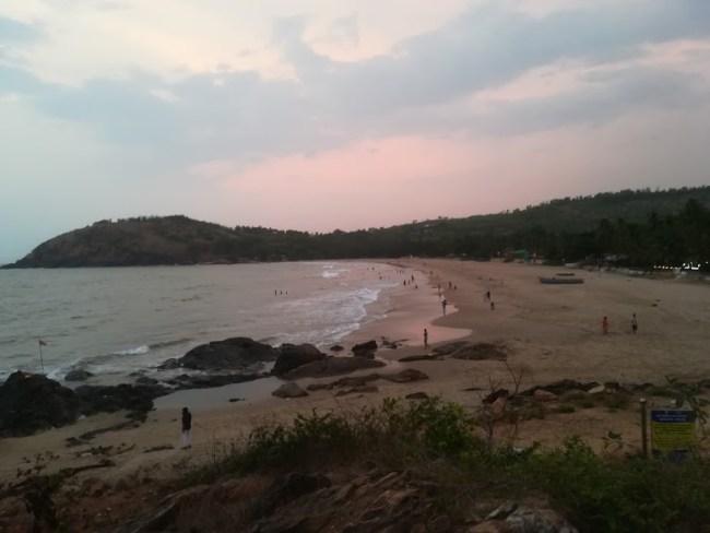 Kudlee beach in Gokarna