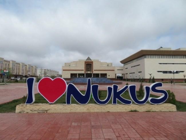 Nukus is the capital of Karakalpakstan