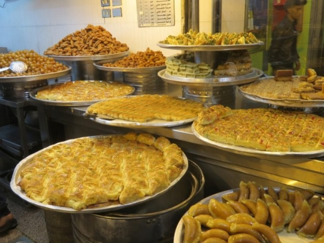The food in Jordan is one of the highlights of backpacking Jordan