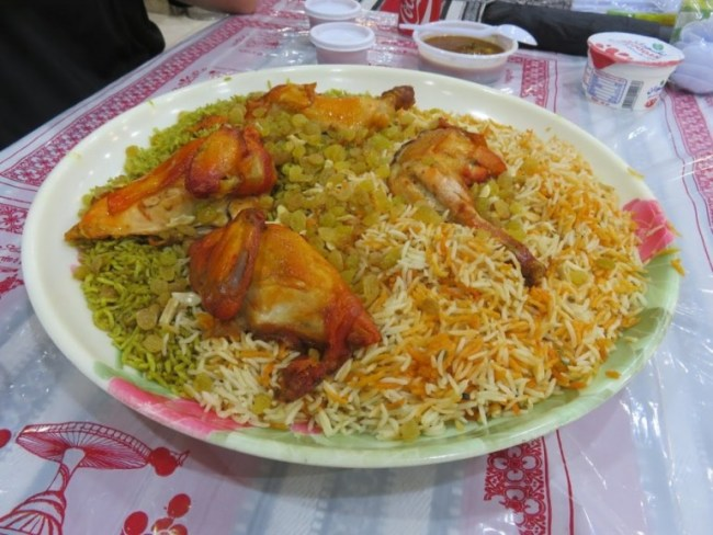 Chicken with Rice in Jordan