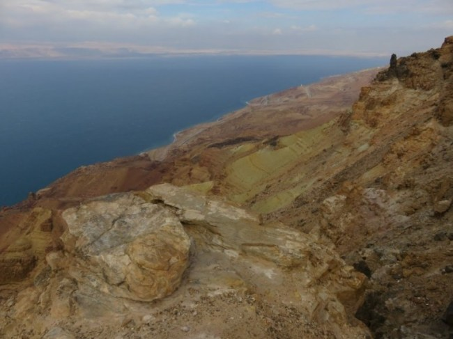 The Dead sea is a must on your backpacking Jordan trip