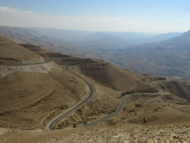 The Kings highway in Jordan