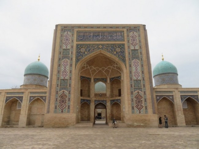 Khast Imom complex in Tashkent Uzbekistan. One of the best places to visit in Tashkent