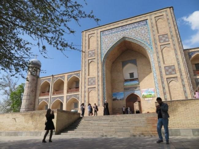 Kulkedash madrassah in Tashkent Uzbekistan