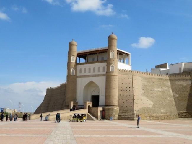 Arc in Bukhara Uzbekistan