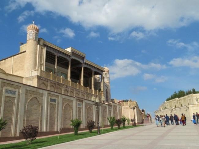 Hazr Kizr mosque in Samarkand Uzbekistan