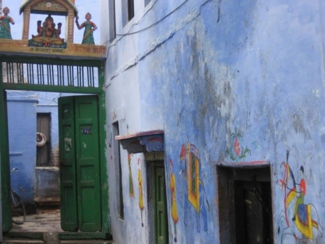Siddha Kshetra neighbourhood in Varanasi