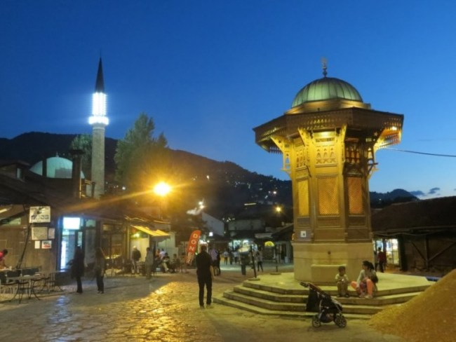 The Bascarsija is among the top things to do in Sarajevo Bosnia