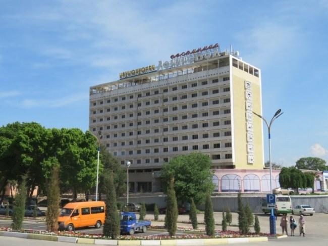 Leninabad hotel in Khujand Tajikistan