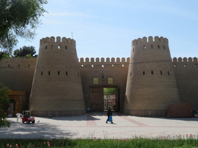 The citadel in Khujand Tajikistan