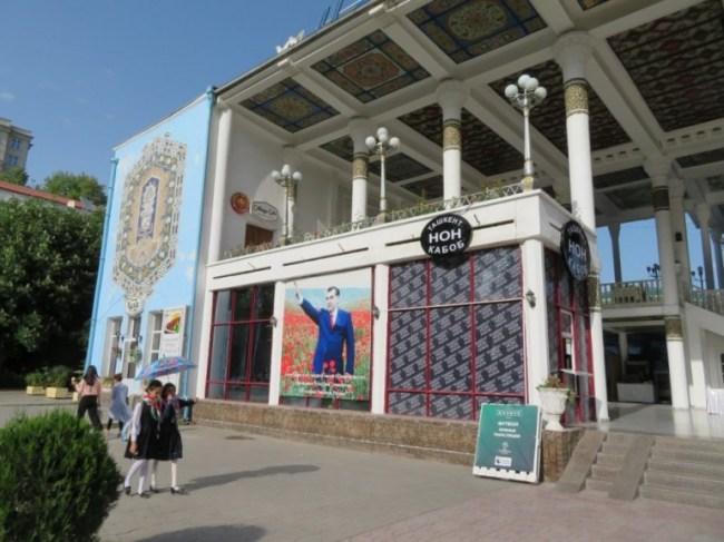 market in Dushanbe Tajikistan