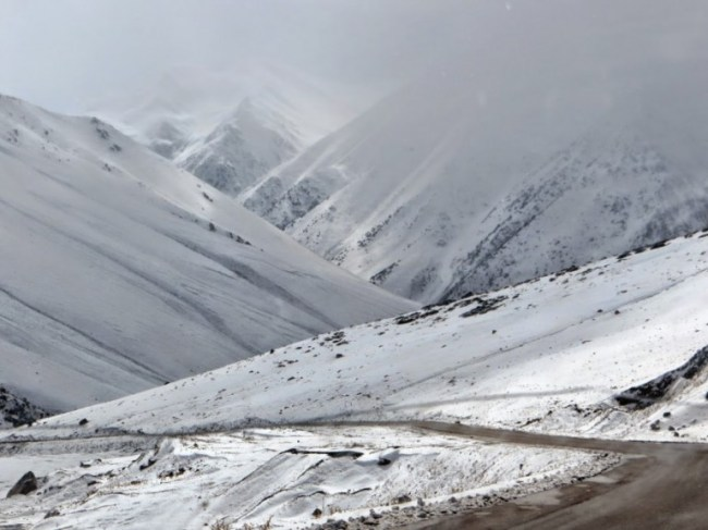 The road from Bishkek to Osh