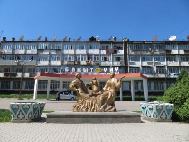 Soviet architecture in Osh Kyrgyzstan
