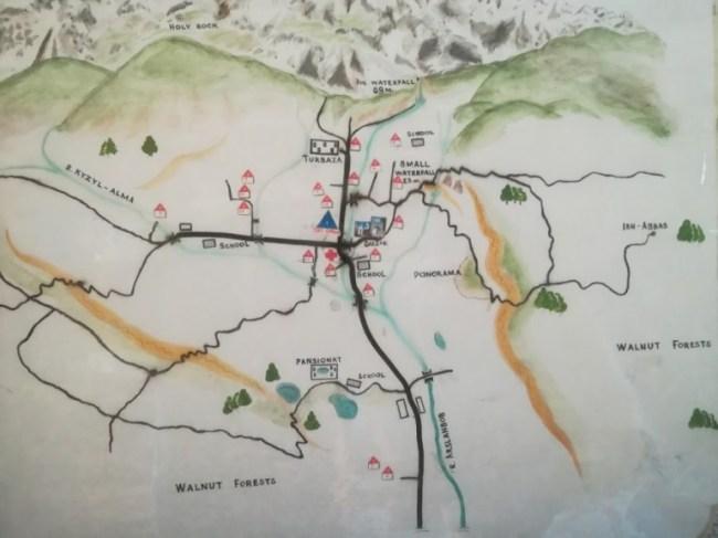 Short hikes in Arslanbob Kyrgyzstan