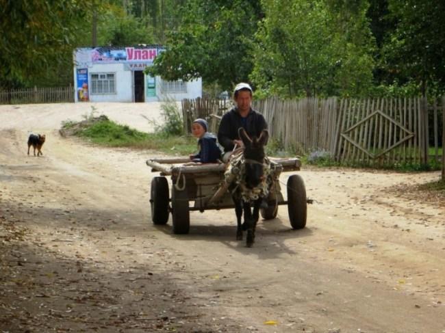 Tosor village in Kyrgyzstan