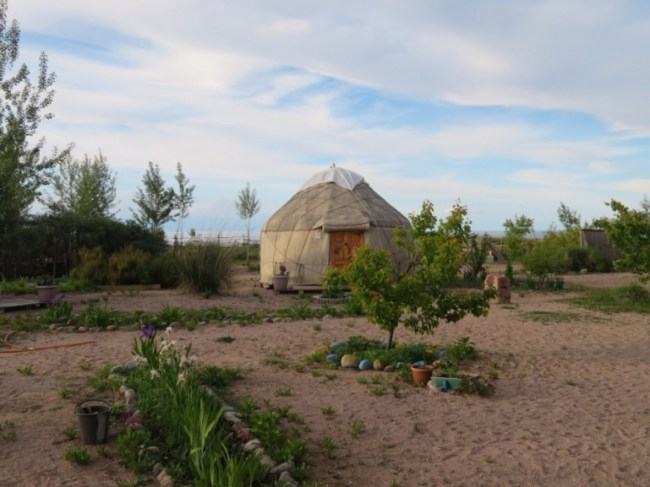 Tonya yurt camp in Tosor Kyrgyzstan