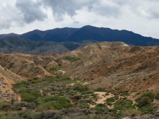 Tien Shan mountain views from Manjly Ata