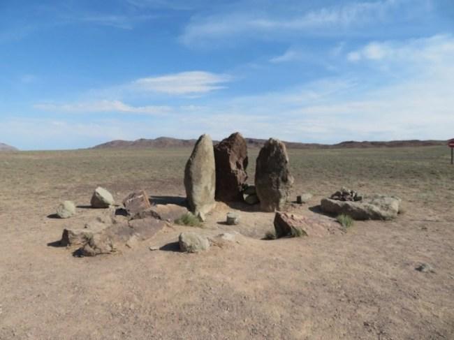 Oshaktas stone steles in Altyn Emel National park