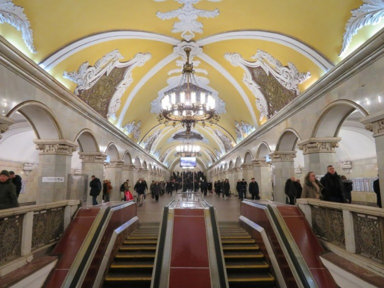 A self guided Moscow Metro tour - Backpack Adventures